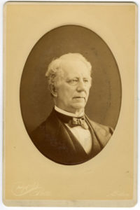 A portrait of Judge Otis Phillips Lord, a Dickinson love interest